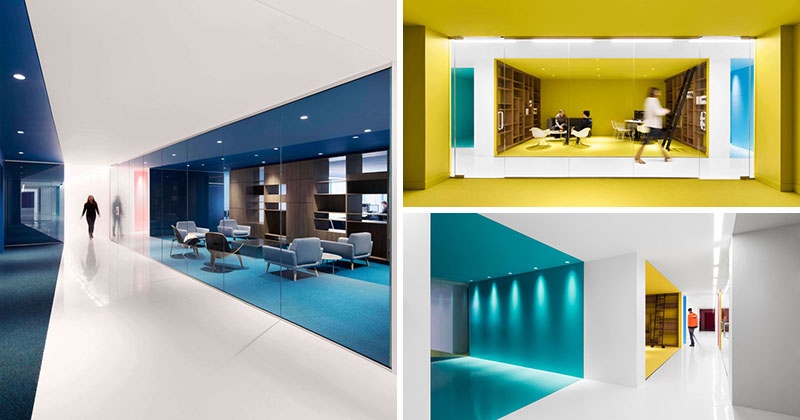 LA INFLUENCIA DEL COLOR EN LA OFICINA modern white office color blocked 300817 119 01