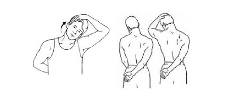 ¡EJERCÍTATE EN LA OFICINA! upper shoulder neck stretch